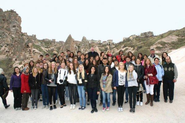 Comenius Project Abschlusstreffen in Nevsehir, Türkei