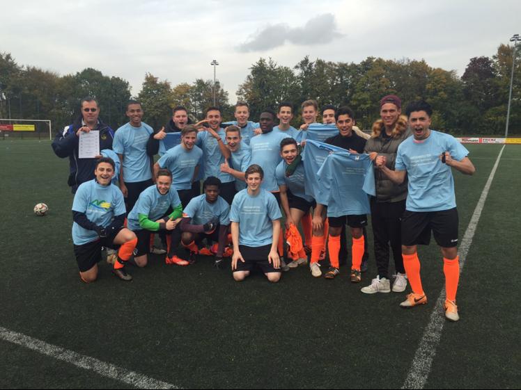 Martin-Luther-King-Gesamtschule ist Kreismeister im Fußball
