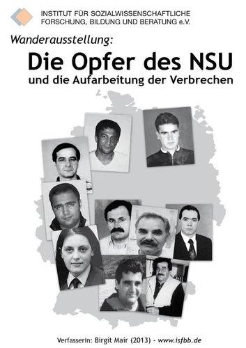 """Wanderausstellung """"Die Opfer des NSU und die Aufarbeitung der Verbrechen"""""""