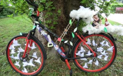 """Unser Fahrrad für die """"Tour de France"""" in der Sparkassenfiliale HRV – Westtangente"""