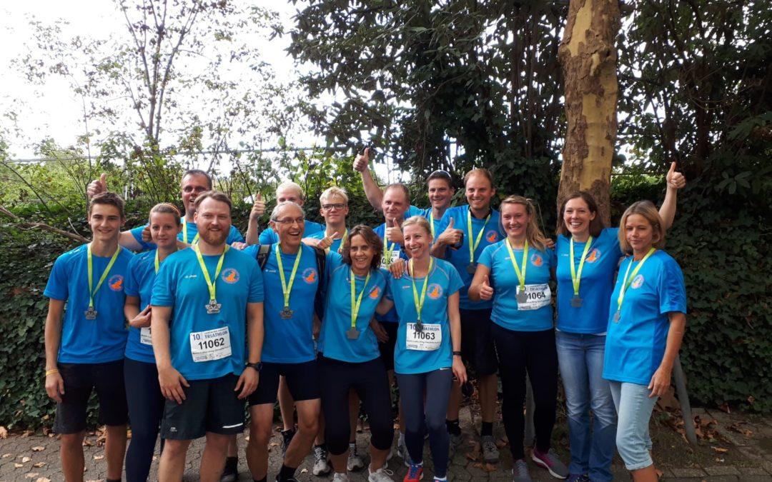 Wiederholungstäter beim Ratinger Triathlon